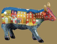 Cow Parade A Moo York Neighborhood Collectible Figurine 47432