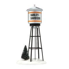 Department 56 Harley-Davidson Juneau Ave. Water Tower 56.4042421