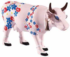 Cow Parade Bilingual Cow Collectible Figurine 47853