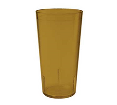 12 Oz Plastic Tumblers (Amber)