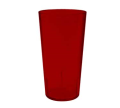 20 Oz Plastic Tumbler (Red)