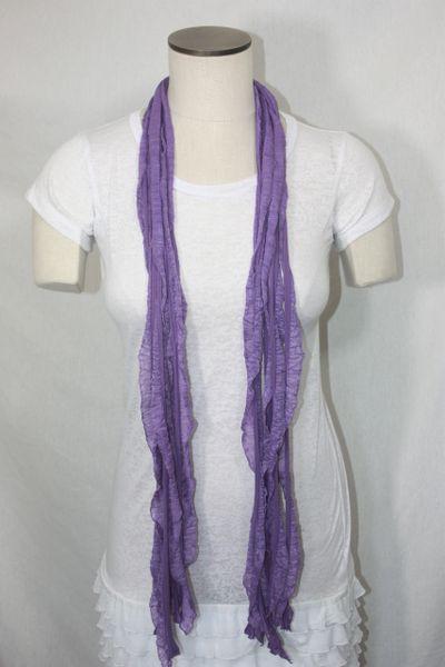 Light Purple Flutter Scarf