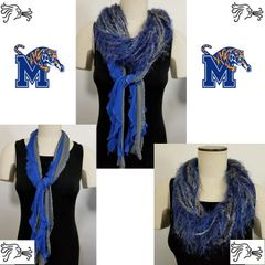 NCAA ACC Memphis Tigers Scarf Lightweight