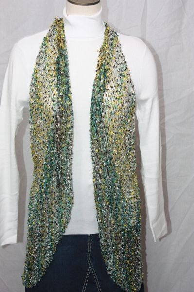 YRDUD Green/Yellow/Black Vest/Scarf
