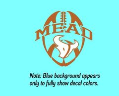 Mead Football Decal
