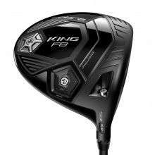 Cobra F8 Driver - Black - Aldila NV 2KXV Blue 60 Stiff Shaft