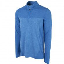 Puma Evoknit Seamless 1/4 Golf Popover - Electric Blue Lemonade