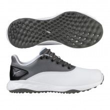Puma Grip FUSION Golf Shoes - Puma White Quiet Shade Puma Black