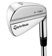 TaylorMade P730 Irons - 3-PW - True Temper Dynamic Gold Steel Shafts