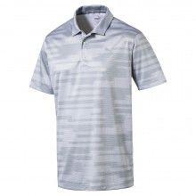Puma PWRCOOL Blue Golf Polo - Quarry