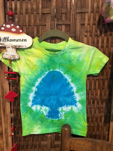8e2318b2a8c Kids 2-3T Tie-Dye Mushroom Tee
