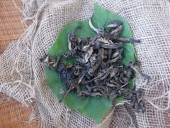 Black Trumpet Mushroom, Dried