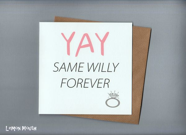 YAY SAME WILLY FOREVER