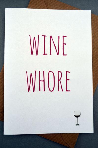 WINE WHORE