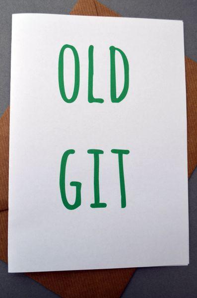OLD GIT
