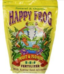 Happy Frog fruit and flower 5-8-4. 4lb