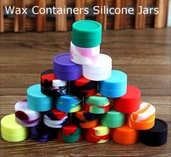 5ml SILICONE CONCENTRATE JARS 2per PACKAGE
