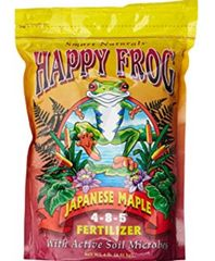 Happy Frog Japanese Maple 4-8-5 4lb