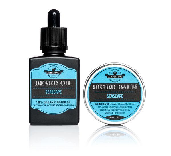 SEASCAPE Set | Beard Oil + Beard Balm