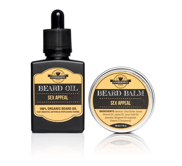 SEX APPEAL Set | Beard Oil + Beard Balm