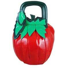 Strawberry shaped novelty ladies handbag.