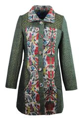 Tapestry panels French coat