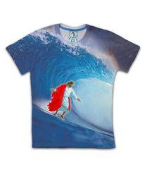 Jesus surfin
