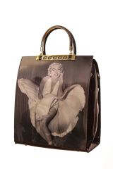 Marilyn Monroe 3 Photos Hologram Handbag