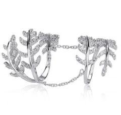 Leaf Sterling Ring