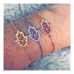 Hamsa Hands Adjustable Bracelet