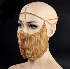 Arabian Inspired Face Chain