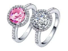 Halo Sterling Ring