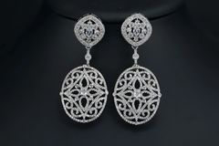 Lace Drop Earrings