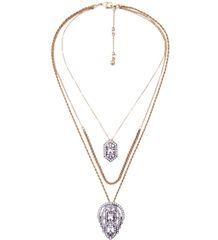 3 Layer Pendant Necklace