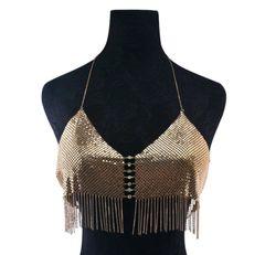 Gold Bikini Body Chain