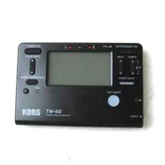 Korg TM-60BK Tuner Metronome -replaces TM50