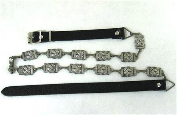 Fancy Celtic Sporran Chain Antique