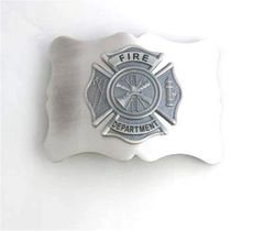 Fire Department Buckle - Antique