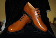 Avriel Light Brown Ghillie brogue