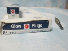 11G GLOW PLUG AC DELCO 8 PLUGS (25168651) NEW