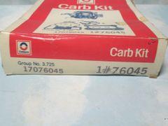 76045 AC DELCO CARBERATOR KIT NEW