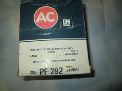 PF 292 OIL FILTER NEW FORD TRUCK W/EDL,401
