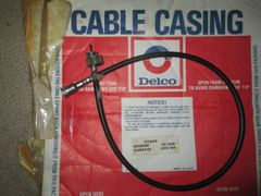CC840 AC DELCO GMC PONTIAC OLDSMOBILE 69-82 BUICK CABLE CASING SPEEDOMETER CABLE NOS