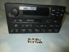 YL1F-18C870 EB FORD RDS TAPE RADIO EXPLORER
