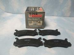 D366 DISC PADS REAR PADS MOTORMASTER