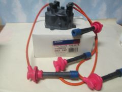 E347A AC DELCO DISTIIBUTOR CAP W/ WIRES NEW