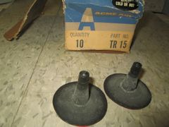 TR15 ACME AIR AG TIRE VALVES SET OF 10 TUBE REPLACEMENT VALVE NOS