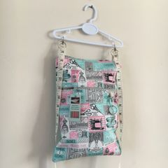 Handmade Cotton Messenger bag - Kids prints