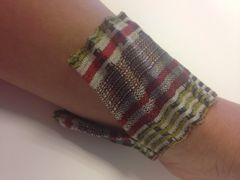Lime stripe cuff