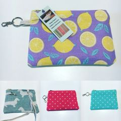 Printed Cotton coin purse